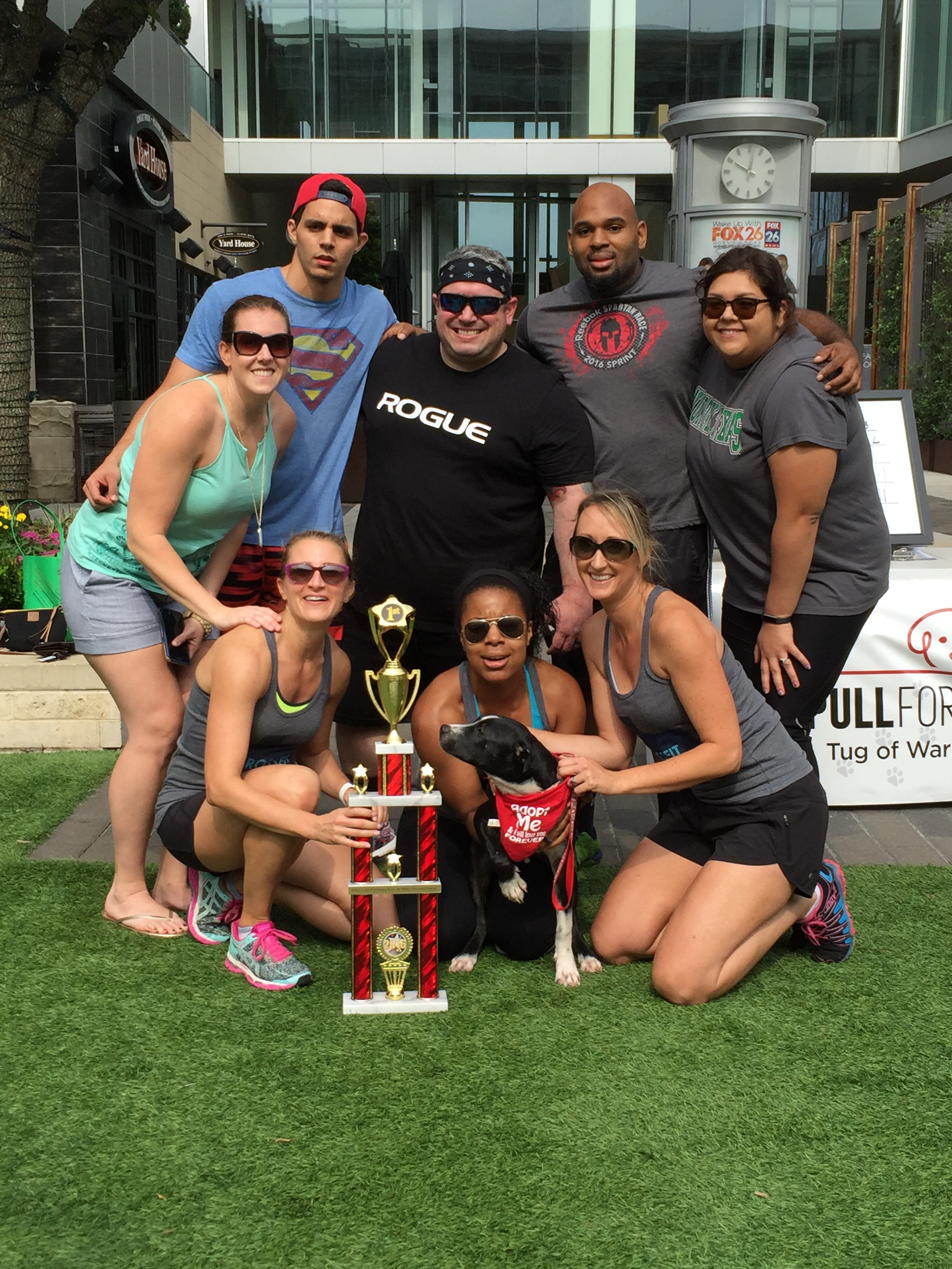 2015 Pull For Puppies Frisco TX Champions Black Iron CrossFit