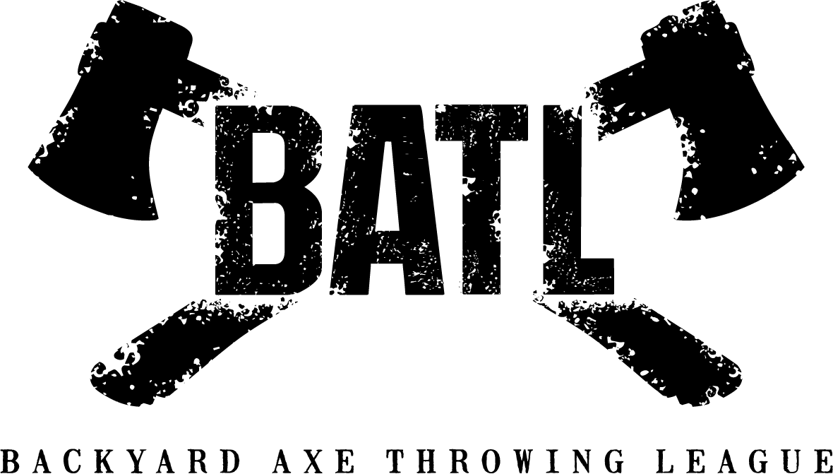 Backyard Axe Throwing League Logo